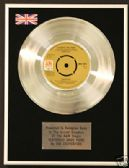 "THE CARPENTERS - 7"" Platinum Disc - YESTERDAY ONCE MORE"